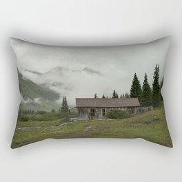 Mountain Cabin Rectangular Pillow