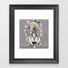 D E S P A I R Framed Art Print