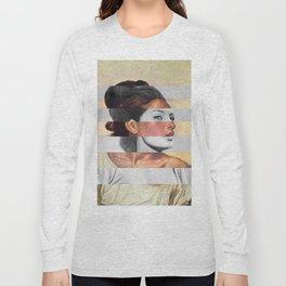 Delacroix's Orphan Girl at the Cemetery & Sophia Loren Long Sleeve T-shirt
