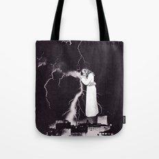 Traveling Light Tote Bag