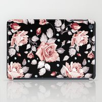 shabby chic iPad Cases featuring Shabby Chic Rose by Madisyn Nicole