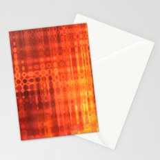 Muted Fire Stationery Cards