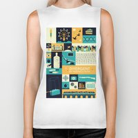 divergent Biker Tanks featuring Divergent items by Isabelle Silva