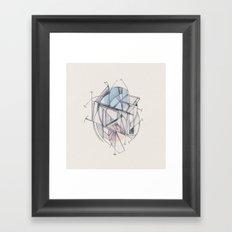 Structura III Framed Art Print