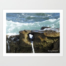 A Moment of Calm (All proceeds dontated to Children of Fallen Patriots Foundation) Art Print