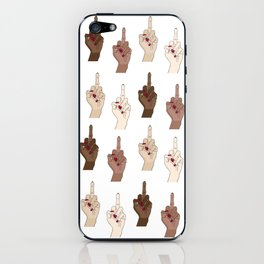 Go fuck yourselves iPhone Skin