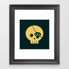 SKULLOP Framed Art Print