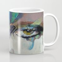 gothic Mugs featuring Gothic Butterflies by Michael Creese