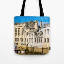 York City Guildhall in the spring sunshine. Tote Bag