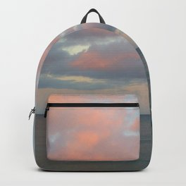 pink clouds over troubled water Backpack