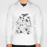 sneakers Hoodies featuring Sneakers Illustration by SoulWon Cheung