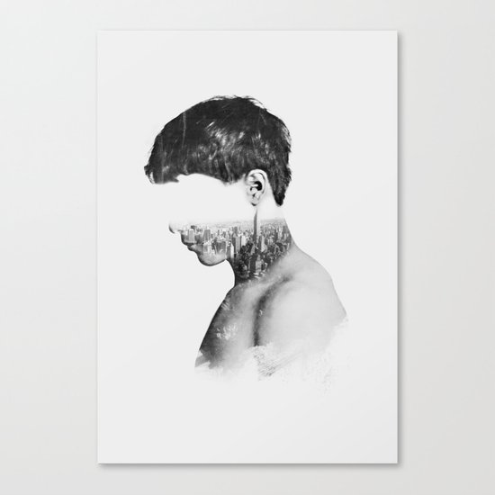 Head 2 Canvas Print