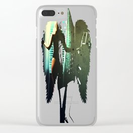 Window Dressing Clear iPhone Case