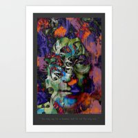 You may say Im a dreamer but Im not the only one Art Print