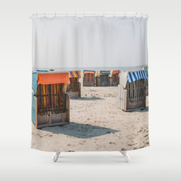 Cabines de plage 4 Shower Curtain