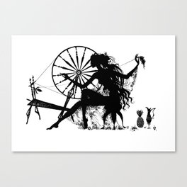 The Spinner Canvas Print
