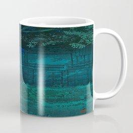 Kawase Hasui Lake Hachirogata, Akita 1927 Japanese Woodblock Print Coffee Mug