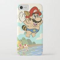 super mario iPhone & iPod Cases featuring Super Mario! by Ismael Álvarez