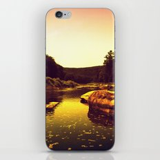 Let the Creek Take You Away iPhone & iPod Skin