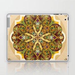 Mandala Sacred Rams - Bright Version Laptop & iPad Skin