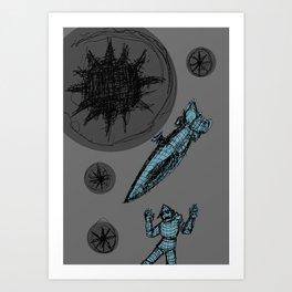 Decaying Wonderland IV Art Print