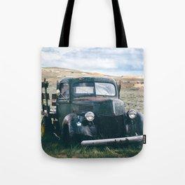 Forgotten Flatbed Truck Tote Bag