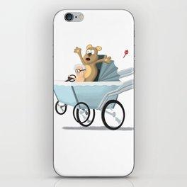 Racing Baby iPhone Skin