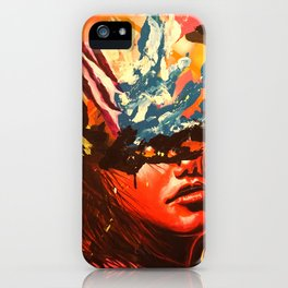 When I need you the most iPhone Case
