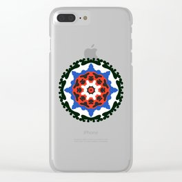 Bold and bright beauty of suzani patterns ver.7 Clear iPhone Case