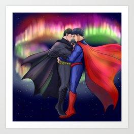 SuperBat - Dance Art Print