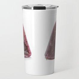 This pyramidal cuberdons Travel Mug
