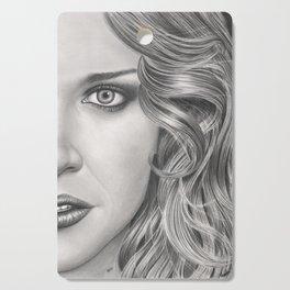 Half Portrait Cutting Board