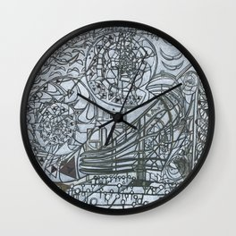 The Wall and the Writers Wall Clock