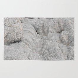 Pixel Snow Rug