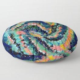 Sky. Stars. Spiral Galaxy Floor Pillow