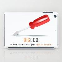 oitnb iPad Cases featuring Big Boo | Screwdriver | OITNB by Sandi Panda