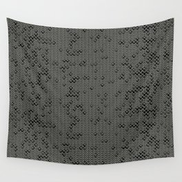 Chain Mail Texture Wall Tapestry
