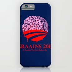 Vote Braains 2012 - A Zombie You Can Believe In Slim Case iPhone 6s