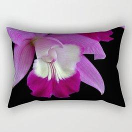 Laeliocattleya Orchid Rectangular Pillow