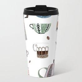 Coffee and Tea Metal Travel Mug
