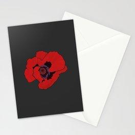 Poppy time Stationery Cards