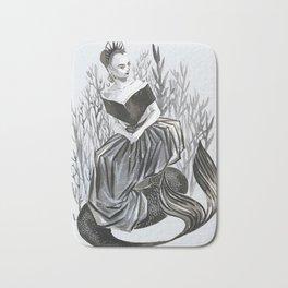 lily collin mermaid Bath Mat
