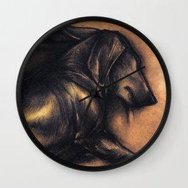 Dackel Wall Clock