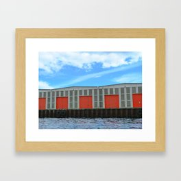 DENMARK WATERFRONT  Framed Art Print