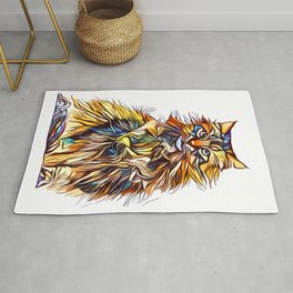 Mixed Up Maine Coon Rug