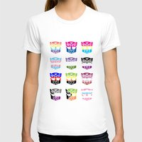 transformers T-shirts featuring Transformers Pride by squ1dp0ny