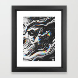 STOP MAKING THE EYES AT ME Framed Art Print