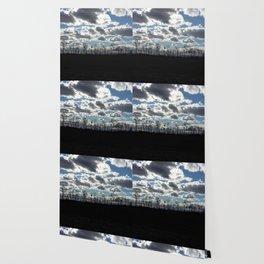 Cloudy Evening Wallpaper