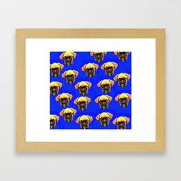 Boxer puppies Framed Art Print