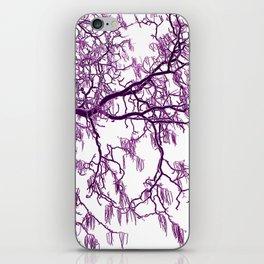 purple tree XXVII iPhone Skin